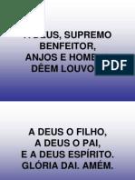 006 - A Deus, Supremo Benfeitor,