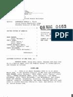 NY Governor Spitzer Criminal Complaint