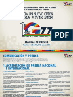 Manual Prensa Cumbre G77