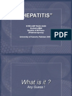 HEPATITIS   a brief introduction.