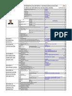En Blanco Registro Unico de Deportistas de Bolivar 2014