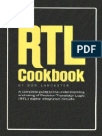 RTL Resistor-Transistor Logic Cookbook