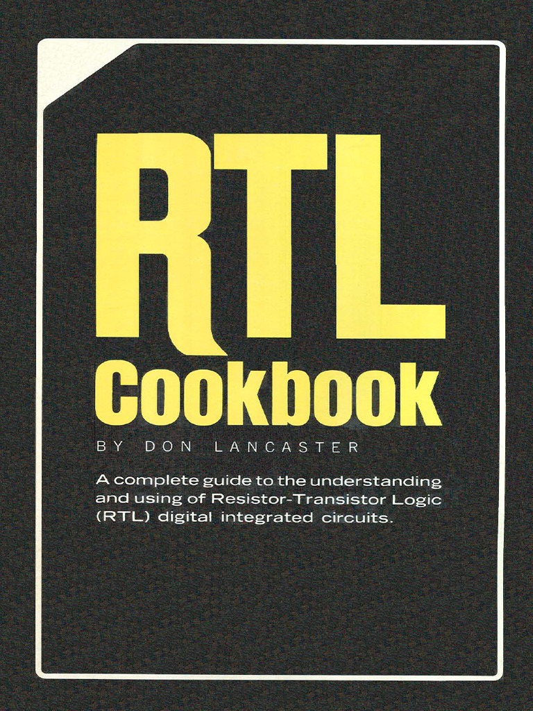 Rtl Resistor Transistor Logic Cookbook Gate Battery Circuit Description Schematic Page 3 Pitchreference Oscillator And Electricity