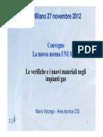Le Verifiche e i Nuovi Materiali Negli Impianti Gas