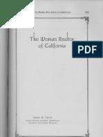 Woman Realtor of California Historic 1919 1924 by Hazel M. Grant Pasadena