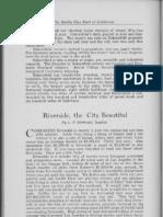 City Profile Riverside California 1924 by L.P. Stewart Realtor