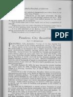 City Profile Pasadena California 1924 by C.V. Sturdevant