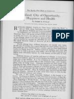 City Profile Oakland California 1924 by Robert B. Dunlap