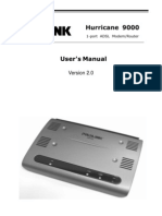Manual prolink hurricane UM_h9000