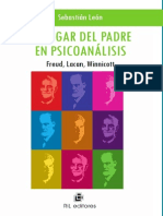El Lugar Del Padre en PsicoanáLisis Freud, Lacan, Winnicott