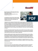 Best Practices for Managing Laboratory Chemical Inventory