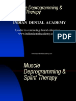 Muscle Deprogramming / orthodontic courses by Indian dental academy