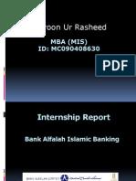 MGT619 MIS Internship Report Al Falah Bank
