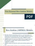 Box Jenkins Methodology