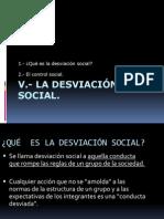 Desviacion Social