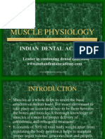 Muscle Physiology in Orthodontics / orthodontic courses by Indian dental academy