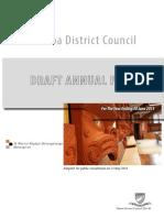 Annual Plan 2014-2015 - Draft Version