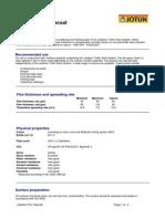 Jotafloor PU Topcoat - English (Uk) - Issued.06.12.200