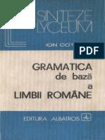 73937569 Gramatica de Baza a Limbii Romane Ion Coteanu CARTEA