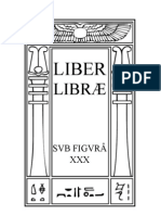 Book 30 Liber Librae sub figura XXX