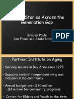 telling stories across the generation gap - presentation