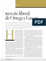 Rescate Liberal de Ortega y Gasset