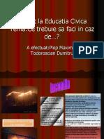 Proiect La Educatia Civica(2)