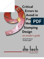 9 Critial Errors to Avoid in PMS