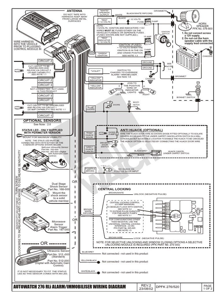 Autowatch Car Alarm Wiring Diagram 34 Images Clifford Antenna 1512123811v1 276 Installation Flash Photography Remote