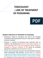 GENERAL LINE Of treatment  UREA AMMONIA SALT.poISONING