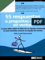 55 Respuestas a Preguntas Clave en Ventas
