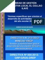 Normas Activ Escolares 2013-Collao