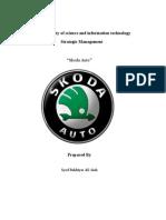 16237745 Skoda Auto Case Study