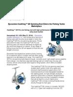 Eposeidon KastKing™ SR Spinning Reel Enters the Fishing Tackle Marketplace