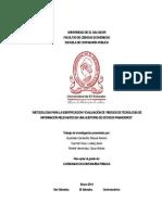 Metodología para la identificación y Evaluación de riesgos de TI en una auditoría de estados financieros