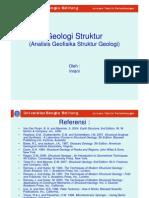 P11 GEOLOGI STRUKTUR Analisis Geofisika Struktur Geologi