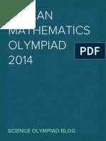 Balkan Mathematical Olympiad 2014
