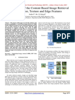 Development of the Content Based Image Retrieval Using Color, Texture and Edge Features