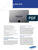 Samsung SSD 840 EVO Data Sheet ITA-0