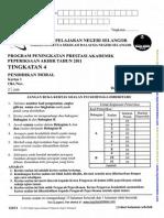 p Moral k1 Tingkatan 4 Pat 2011 Selangor z