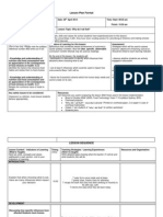 lesson plan template 2014