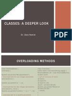 Introducing Classes 2