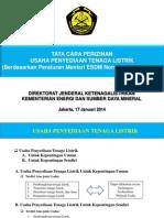 Paparan Perizinan IUPL, Permen 35 Tahun 2013