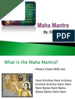 190 1 2011 Aug 05 Maha Mantra Divya Venkat