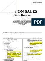 Sales Finals Reviewer (Rachelle Anne Gutierrez Block A 2016 - Updated 20 May 2014)