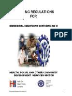 TR Biomedical Equipment Services NCII