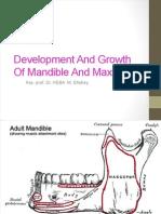 Development & Growth of Mandible