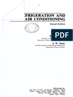 Refrigeration and Air Conditioning. W. F. Stoecker, J. W. Jones