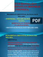 Identitas Bangsa dan Negara Kesatuan Republik Indonesia