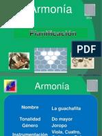 Planificación de Armonia
